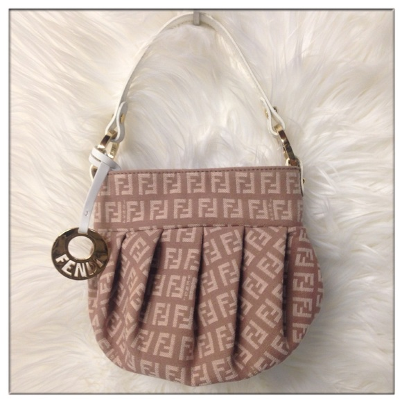 Fendi Handbags - 🎉HP🎉 Fendi Zucca Mini Chef monogram canvas bag f8710b0f43